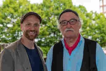 Moritz A. Sachs und Hans W. Geißendörfer