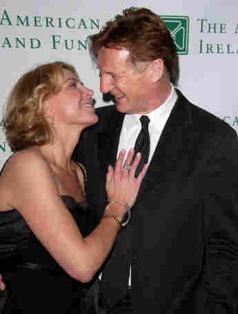 Liam Neeson mit seiner Frau Natasha Richardson