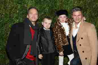 Neil Patrick Harris How I met your mother Star HIMYM Kinder Ehemann David Burtka Gideon Harper