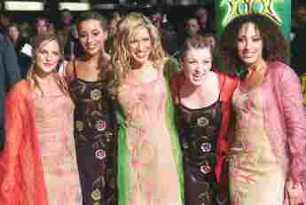 No Angels: Sandy Mölling, Nadja Benaissa, Vanessa Petruo, Lucy Diakovska und Jessica Wahls