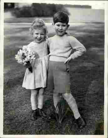BG: So sahen die britischen Royals als Kinder aus.