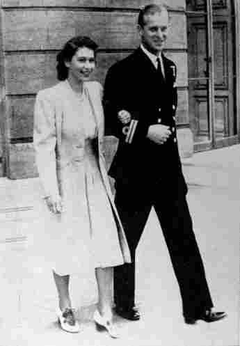 Queen Elisabeth Prinz Philip Verlobung