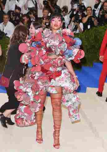 Rihanna auf der Met Gala 2017