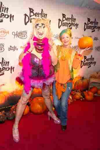 Halloween 2015: Rolf Scheider und Barbara Engel