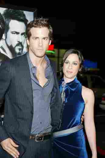 Ryan Reynolds und Alanis Morissette im Jahr 2004