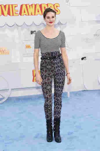 Shaeilene Woodley bei den MTV-Movie-Awards 2015
