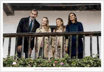 Spanische Königsfamilie Weihnachten