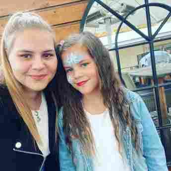 Sylvana Wollny mit ihrer Tochter Celina-Sophie