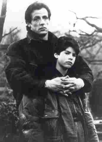Sylvester Stallone mit seinem Sohn Sage