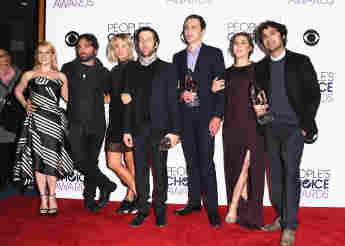 """Der """"The Big Bang Theory""""-Cast bei den People's Choice Awards 2016"""