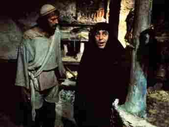 """Terry Jones als """"Brians"""" Mutter in """"Das Leben des Brian"""", Monty Python, Life of Brian"""