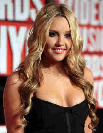 schauspielerin amanda bynes 2009 mtv music awards