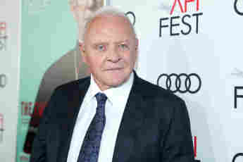 Schauspieler Anthony Hopkins bei The Two Popes Gala Event am 18. November 2019