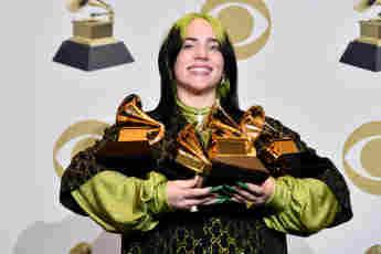 Billie Eilish ist die große Abräumerin bei den Grammys 2020