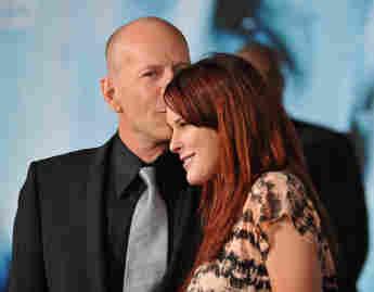 """Bruce Willis und Rumer Willis bei der Premiere des Films """"Surrogates – Mein zweites Ich"""" am 24. September 2009"""
