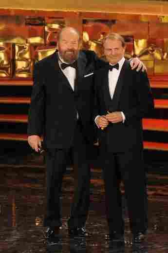 So lernten sich Bud Spencer und Terence Hill kennen