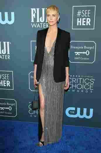 Charlize Theron bei den Critics' Choice Awards 2020