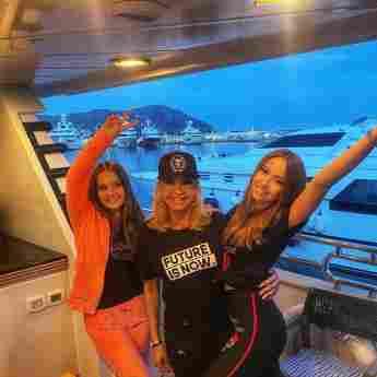 Davina, Carmen und Shania Geiss