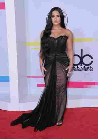 Demi Lovato am 19. November 2017 bei den American Music Awards