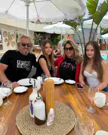 Robert, Shania, Carmen und Davina Geiss auf Instagram