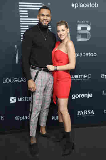 Dominic und Sarah Harrison 2019 bei den Place to Be Awards