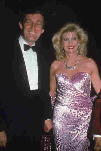 Donald Trump und Ivana Trump
