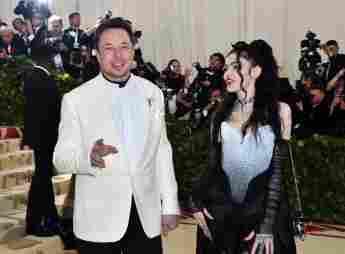 Elon Musk Grimes Eltern Baby Kind