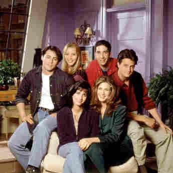"""Der Cast von """"Friends"""": Matt LeBlanc, Lisa Kudrow, David Schwimmer, Matthew Perry,  Courteney Cox, und Jennifer Aniston"""