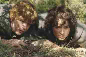 """""""Herr der Ringe"""": """"Samweis"""" und """"Frodo"""""""