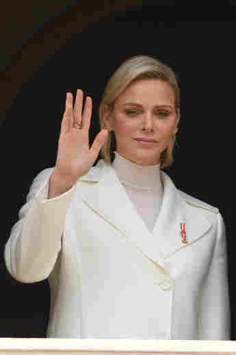 Fürstin Charlène von Monaco am Nationaltag von Monaco am 19. November 2019