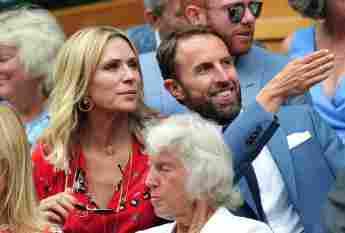 Gareth Southgate Frau Alison Wimbledon 2019
