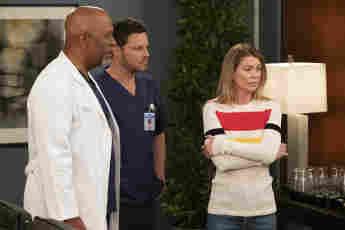 """""""Grey's Anatomy"""" """"Richard"""" """"Alex"""" und """"Meredith"""" staffel 15 finale"""