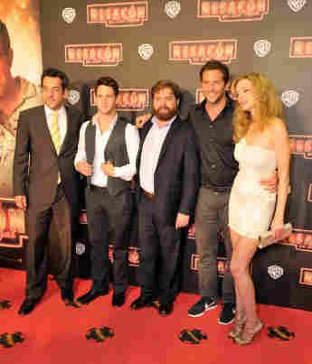 """Der """"Hangover""""-Cast auf dem roten Teppich"""