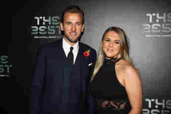 Harry Kane und Katie Goodland bei den The Best FIFA Football Awards am 23. Oktober 2017