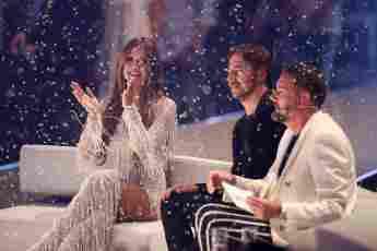 Heidi Klum, Thomas Hayo und Michael Michalsky beim GNTM-Finale 2018