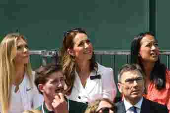 Herzogin Kate Wimbledon Spiel