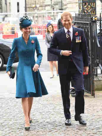 Herzogin Kate und Prinz Harry beim ANZAC Day Service am 25. April 2019