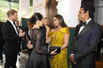 Herzogin Meghan, Beyoncé und Jay-Z schienen sich auf Anhieb blendend zu verstehen