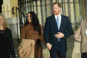 Herzogin Meghan und Prinz Harry Auftritt