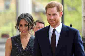 Herzogin Meghan und Prinz Harry bei der Gedenkfeier in der St Martin-in-the-Fields in Trafalgar Square in London am 23. April 2018