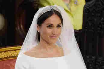 Herzogin Meghan bei ihrer Hochzeit