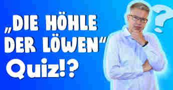 """""""Die Höhle der Löwen""""-Quiz"""