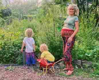 Janni Hönscheid und ihre Kinder auf Instagram