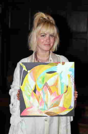 Jasmin Tawil bei der Release Party Glücks EP in Berlin am 6. Mai 2015