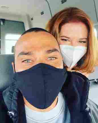 """Jesse Williams und Sarah Drew bei einer """"Grey's Anatomy""""-Reunion auf Instagram"""