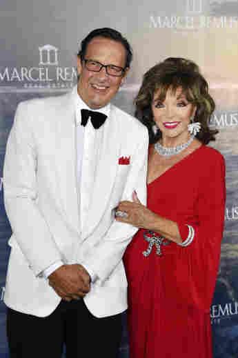 Joan Collins mit Ehemann Percy Gibson bei der Remus Lifestyle Night 2021 am 5. August 2021