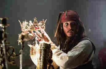 """Johnny Depp in """"Fluch der Karibik"""""""