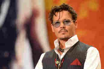 """Johnny Depp bei der Japan-Premiere von """"The Lone Ranger"""" am 17. Juli 2013"""