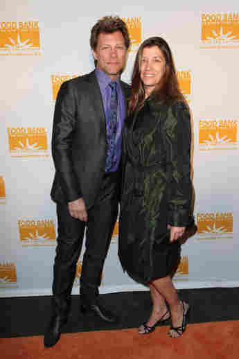 Jon Bon Jovi Dorothea Hurley red carpet