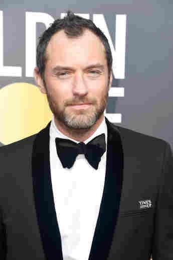 Jude Law bei den Golden Globes 2018